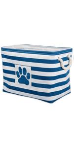 storage bin,storage basket,storage for pet toys,dog toys,home decor,home storage,storage solution