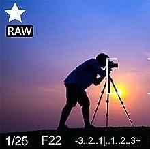RAW editing