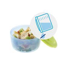 Chicco Easy Meal - Pack de tres recipientes porta papilla encajables entre ellos, 180ml y 300ml, 6m+: Amazon.es: Bebé