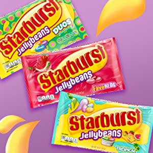 Starburst Jellybeans in a Variety of Fun Flavors
