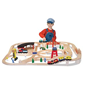 role;play;pretend;boy;girl;toddler;imagination;conductor;tracks