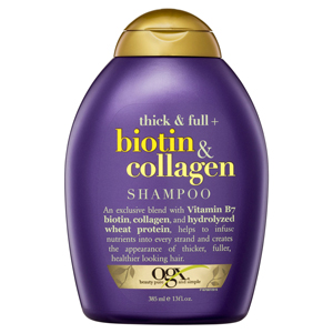 ogx shampoo thick and full hair biotin and collagen best shampoo thinning hair organic treatment buy