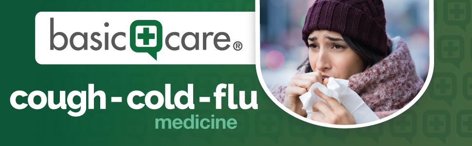basic care cough cold flu medicine