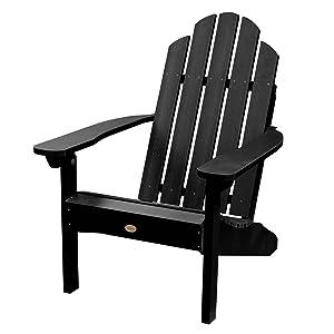 classic wesport, adirondack, chair, outdoor, patio, plastic, coastal, sturdy
