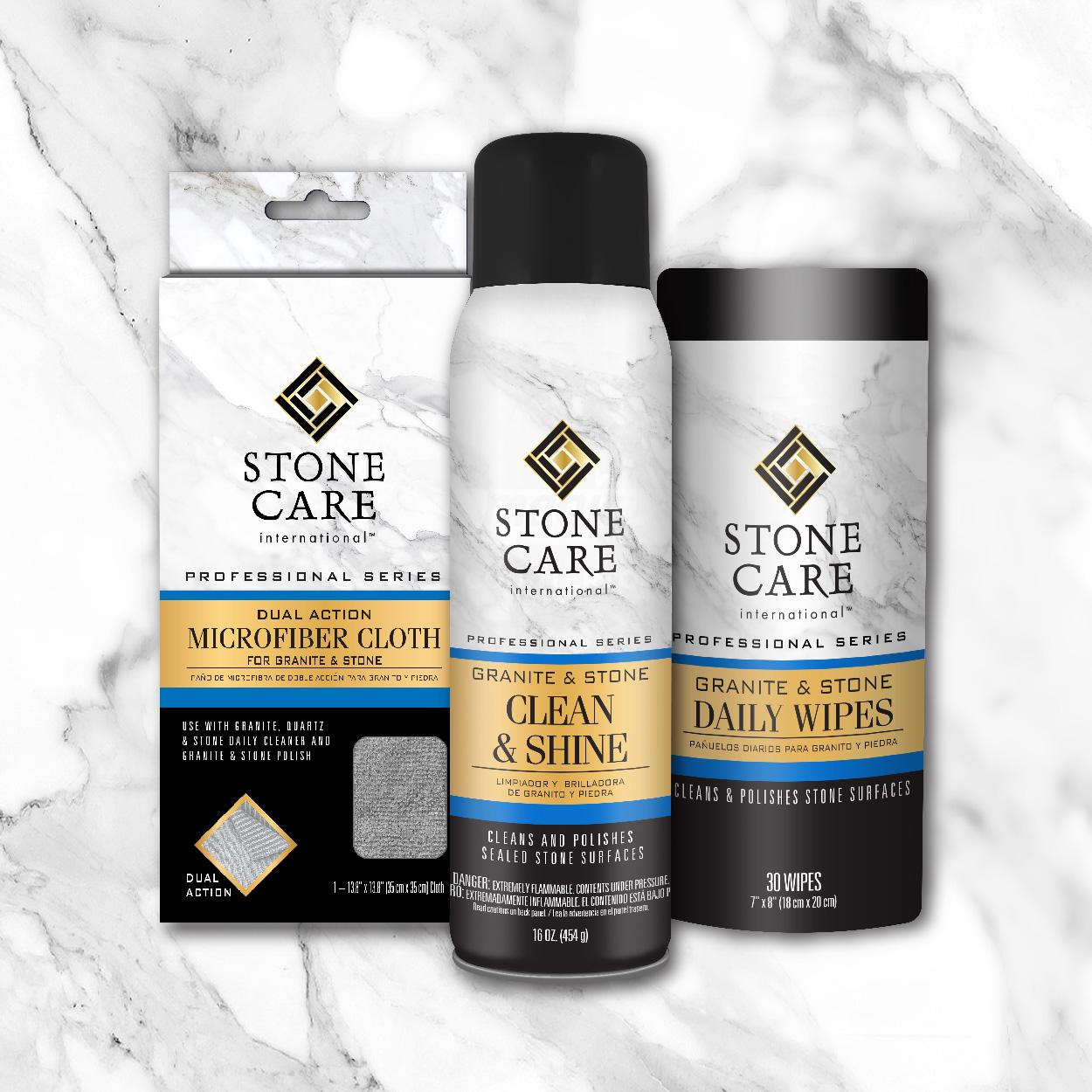 Stone care international granite stone daily wipes 30 count home kitchen - Stone international ...