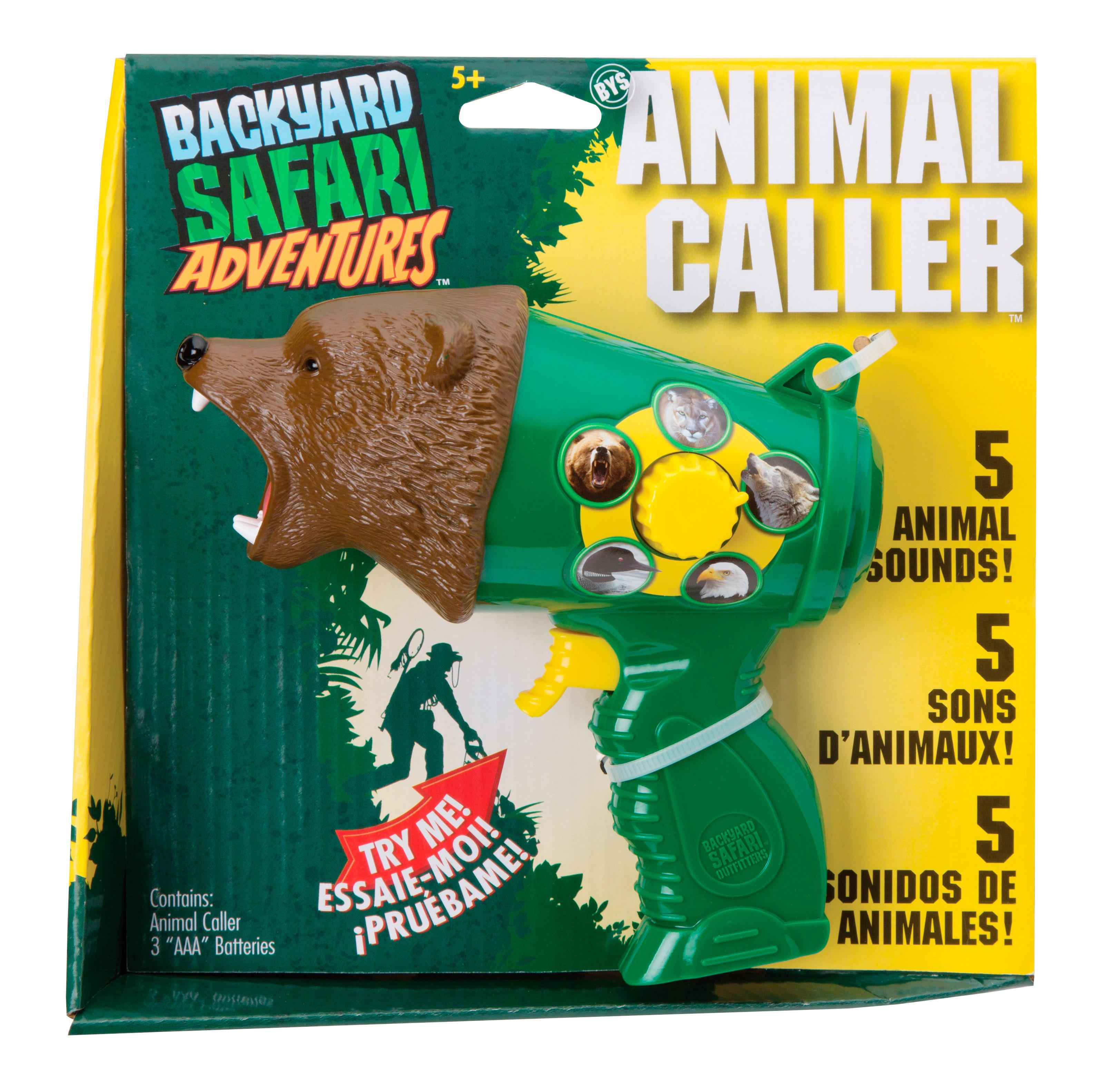 amazon com backyard safari animal caller toys u0026 games