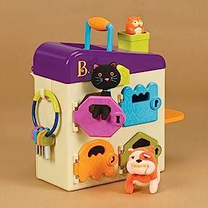 B. Toys, Battat Toys, Animals, Pet Vet, Pretend Play, Veterinarian, Imagination