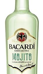 Bacardi Carta Blanca Ron, 1L: Amazon.es: Alimentación y bebidas