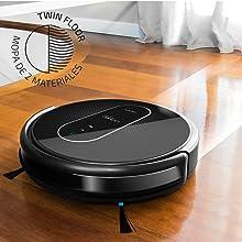Cecotec Conga Serie 1390 Robot Aspirador 4 En 1, Navegación Inteligente Y Ordenada Itech Gyro, 7 Modos De Limpieza Con Muro Magnético, 3 Niveles De Fregado, 45 W, Plástico, Negro: Amazon.es: Hogar
