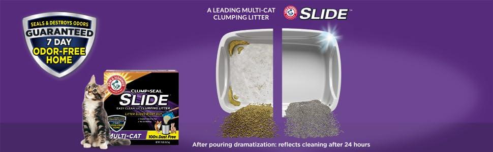 Amazon Com Arm Amp Hammer Slide Multi Cat Easy Clean Up