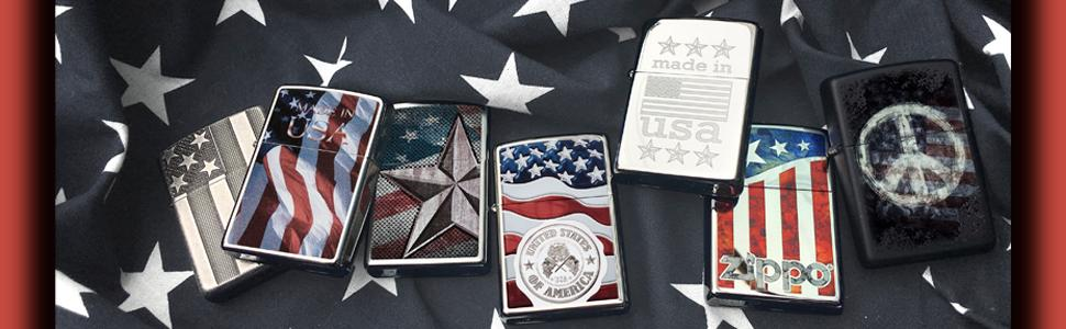 flag lighter, american flag lighter, american flag, zippo american flag lighters, zippo lighters