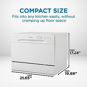 Dishwasher, dishwashing machine, countertop dishwashers, counter top dishwasher, small kitchen dish
