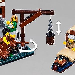 ブロック ぶろっく レゴブロック Toy おもちゃ 玩具 知育 クリスマス プレゼント ギフト 誕生日 たんじょうび 乗り物 のりもの 船 ふね シップ ボート クルーザー,歳, 才