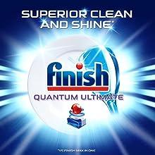 finish quantum ultimate superior clean shine