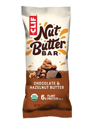 CHOCOLATE HAZELNUT BUTTER CLIF BAR ENERGY BAR NUT BUTTER FILLED USDA ORGANIC