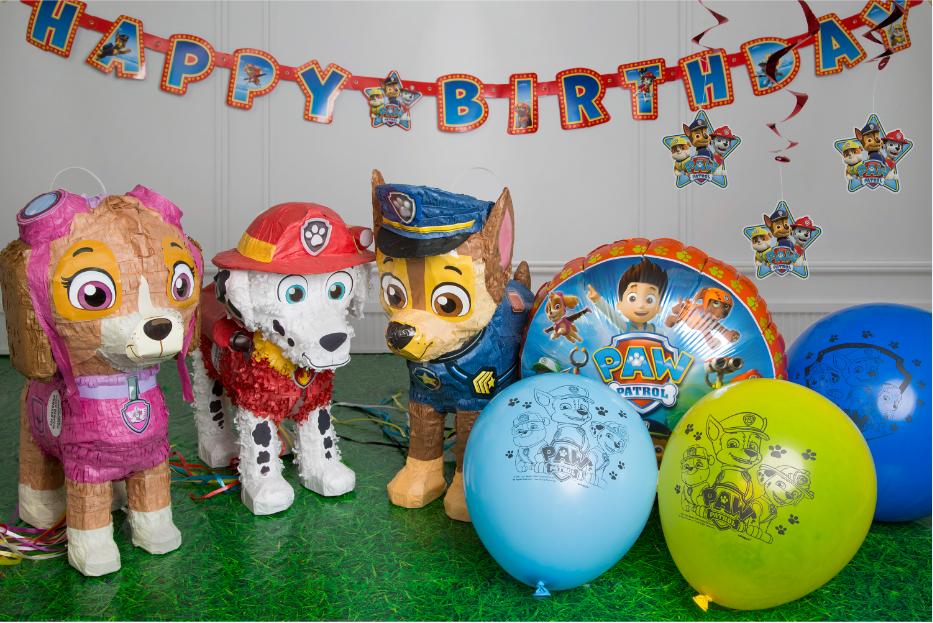 Amazon PAW Patrol Party Supplies Kit For 8 Toys Games