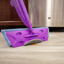 Mop With Scrub Pad, Mop With Scouring Pad, Floor Scouring Pad, Tough Mess Scrubber