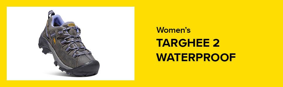 womens targhee ii 2 waterproof hiking shoe hero
