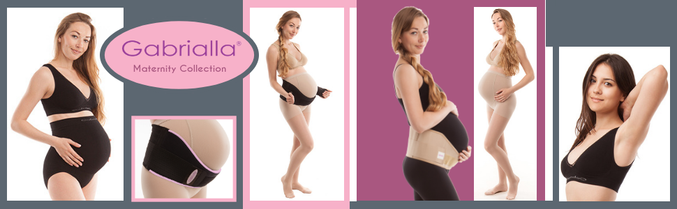 Gabrialla maternity pregnancy support belt compression pantyhose
