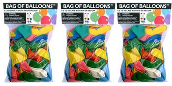 Latex Balloons, Helium Balloons, Bag of Balloons, Party Balloons, Birthday Balloons