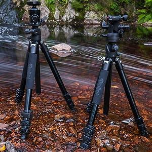 Rollei Rock Solid Gamma 180 Aluminium Professionelles Kamera