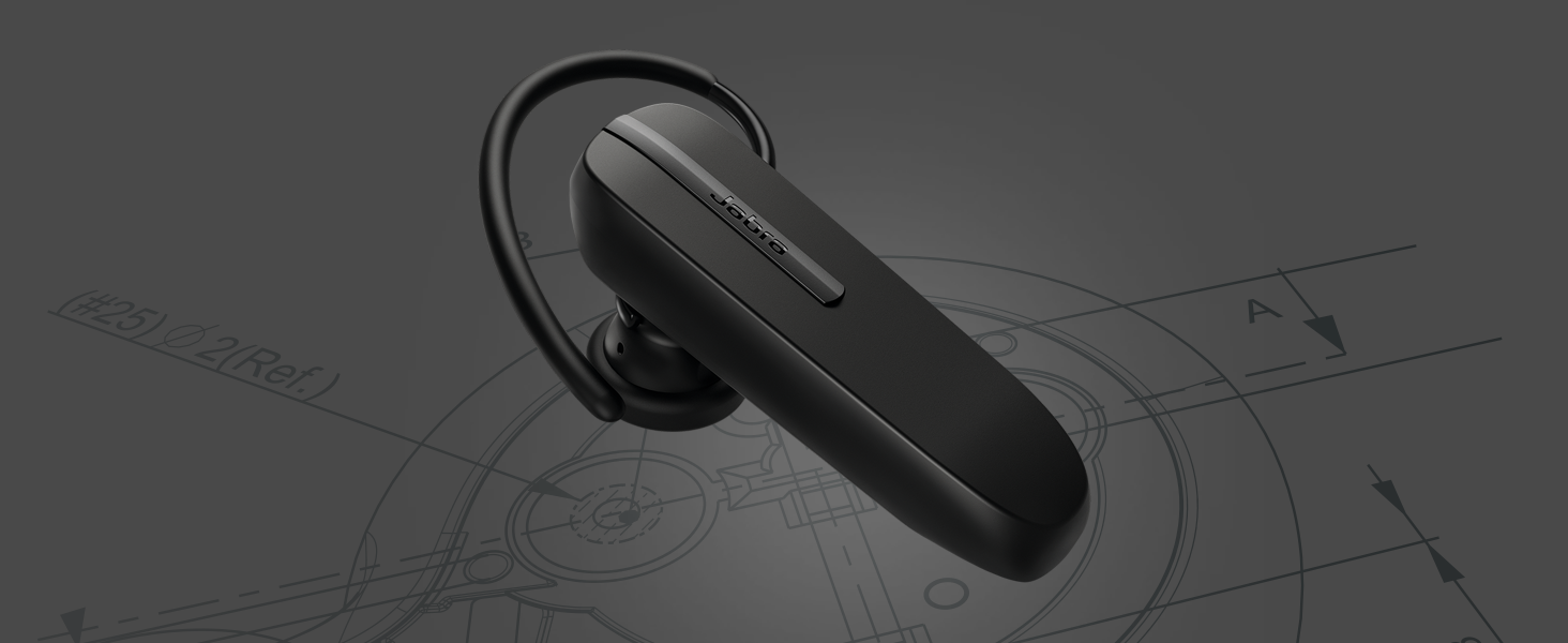 Jabra Talk 5 Bluetooth Headset For Hands Free Calls With Intuitive Design And Simple Use Amazon Ca Cell Phones Accessories