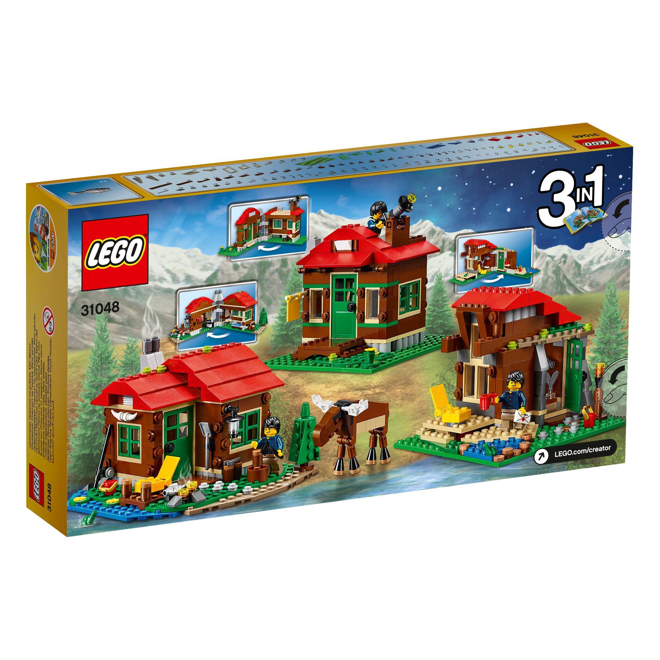 lego creator 31048 lakeside lodge set lego. Black Bedroom Furniture Sets. Home Design Ideas