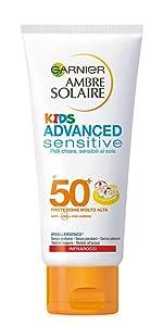 latte protezione solare, latte solare per bambini, latte solare per bambini