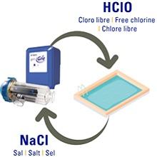 Gre SCG60 – Clorador Salino para Piscinas de hasta 60 m3, 12 ...