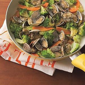 あさり アサリ 貝類 魚介類 魚介 造血 貧血 貧血予防 貧血防止 亜鉛 ビタミンC ビタミンD 野菜 野菜炒め