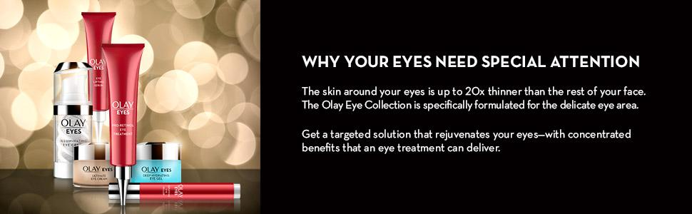 eye treatment, bags under eyes, reduce puffy eyes, eye roller, olay eye roller, olay eye treatment