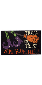 doormats,witches,brooms,patio,entryway, wipe your feet