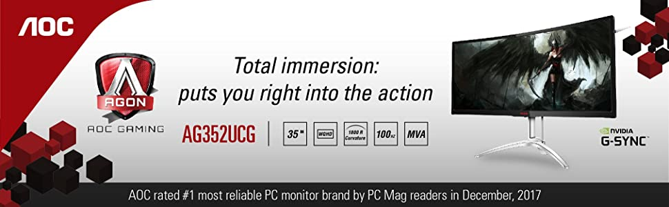 AOC AG352UCG Gaming Monitor