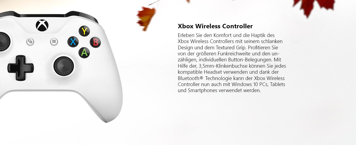 Xbox One S 1TB Wireless Controller