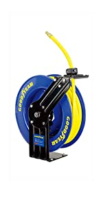 50FT 15//M Auto Ractable 3//8 Garden Hose Pipe /& Reel Outdoor Watering 60-15 Hose