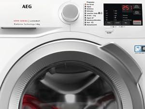 AEG L6FBI824U Lavadora de libre instalación, Carga Frontal, Serie ...