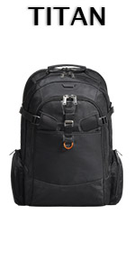 EVERKI Titan Checkpoint Friendly Laptop Backpack Fits Up to 18.4-Inch Laptops