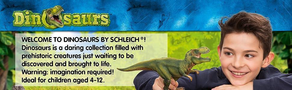 Schleich Dinosaur 14530 Velociraptor Small green BNWT retired