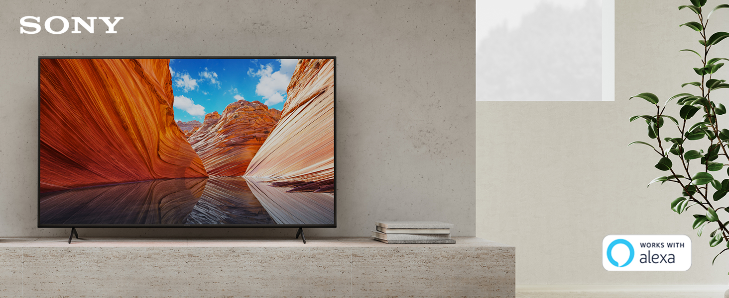Sony X80J 4K HDR LED smart Google TV