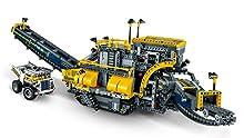 Huge tracks, conveyor belt, and detailed cab