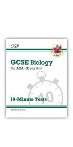 GCSE AQA Biology 10-Minute Tests