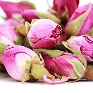 petali di rosa biologici