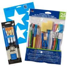 brushes and stencils