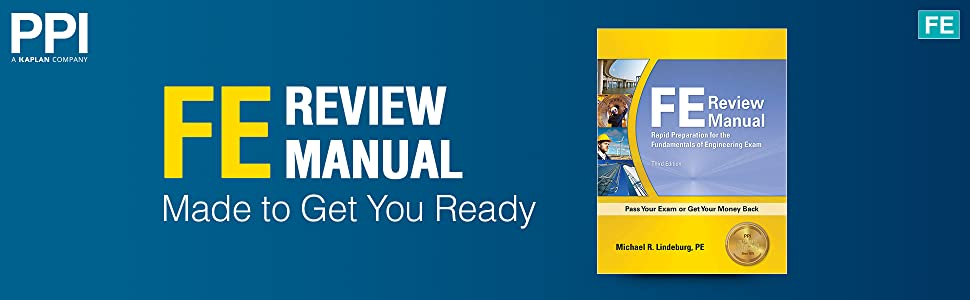FE Review Manual Made to Get You Ready