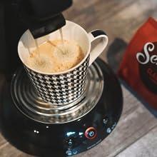 Coffee, coffee maker, metal drip tray