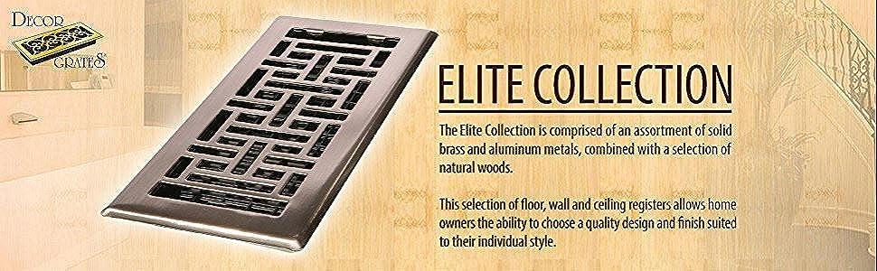 Amazoncom Decor Grates AJL610WRB Oriental Wall Register 6Inch