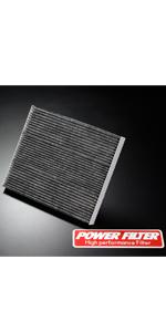 POWER FILTER カーボンキャビンフィルター PM2.5 対応 仕様 CFT-S9 B084XFQTQ7