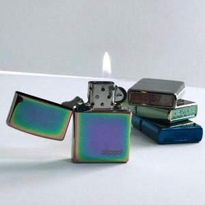 how are they made? zippo lighters, zippo color lighters, spectrum, high polish lighters, windproof