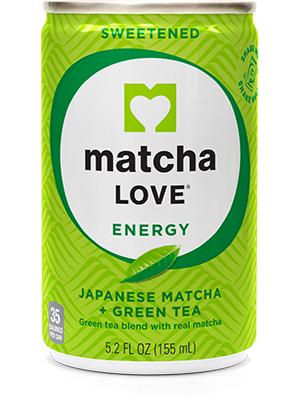 matcha, green tea, energy, shot, sweetened, japanese