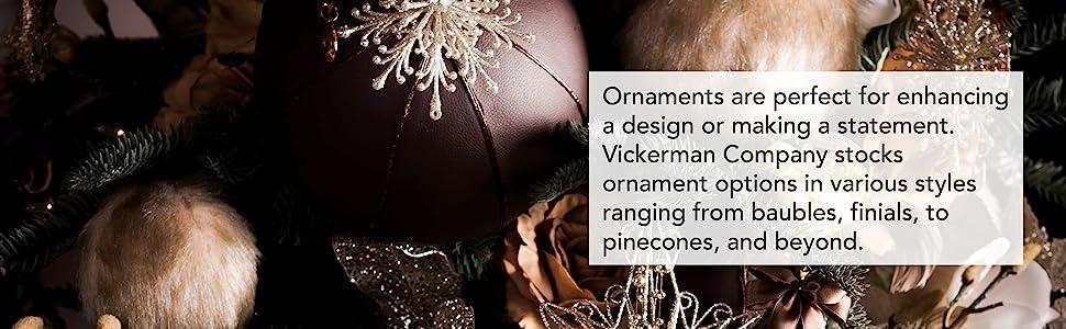 Vickerman Ornaments